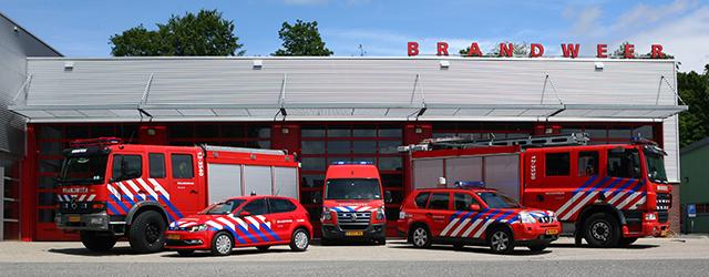 Post Heemstede Is Onderdeel Van Brandweer Kennemerland Binnen Veiligheidsregio Kennemerland